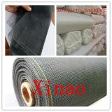 Pantalla oscura 110g 120g 18X16mesh de la ventana de la fibra de vidrio del insecto de /Gray