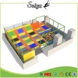 Trampolino professionale utilizzato commerciale del trampolino dell'interno approvato del certificato di Xiaofeixia ASTM da vendere