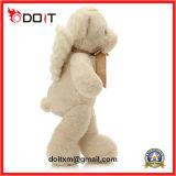 아기 곰 장난감은 천사 견면 벨벳 곰 인형 장난감을 채웠다