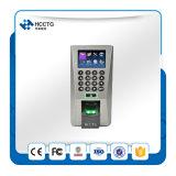 Eingebaute Serie IP-RS485 und Ethernet-Kanal-biometrischer Fingerabdruck-Leser für Zugriffssteuerung (F18)