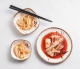 Plato 100% de la salsa de la melamina/plato cuadrado de la placa/del condimento (At076A)