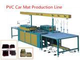 Linha de produção automática da esteira do pé do carro do PVC