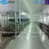 広州でなされる自動液体洗剤の生産ライン