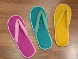 Madame colorée Bedroom Slippers de bascule électronique de Terry de coton