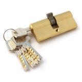 Bloqueo de cilindro de cobre amarillo, bloqueo de cilindro de la puerta, bloqueo de cilindro del clave de ordenador (AL-70)