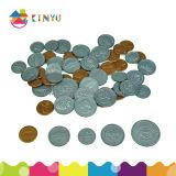 教育おもちゃのプラスチック操作可能な硬貨の学習