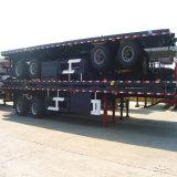 Трейлер плоской кровати контейнера Axles 40ft более низкого цены 2 Semi