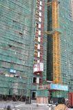 De Lift van het Hijstoestel van de Machines van de bouw met CH-524 en 2 Kooien