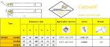 Sttcr/L 1616h11 para Hardmetal de acero que corresponde con los mangos de maniobra estándar