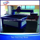 강철 금속 장 격판덮개를 위한 싼 테이블 유형 플라스마 CNC 절단기
