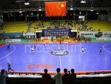 Multi Zweck Futsal Gerichts-Basketballplatz-Bodenbelag (Futsal- Goldsilber-Bronze)