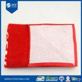 Volle Seiten-Baumwollmarkierungsfahne gedrucktes Badetuch 100%