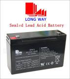 6V12ah Longway SLA verzegelde de Zure Batterij van het Lood