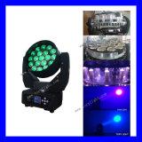 Summen-bewegliches Hauptlicht der LED-Lampen-19*12W LED
