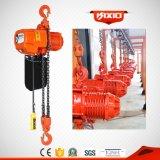 Élévateur à chaînes électrique de 3 tonnes avec la chaîne de Fec
