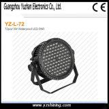 La etapa 72pcsx3w impermeabiliza la luz de la IGUALDAD del LED