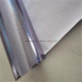 De zilveren Film van het Aluminium bedekte niet Geweven Stof voor de Dekking van het Stuurwiel van de Auto met een laag