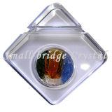 Portatarjetas cuadrado cristalino (BG0015)