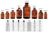 Bernsteinfarbige Glasflasche für pharmazeutisches