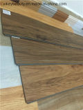 Plancher européen de PVC de matériaux de construction de plancher de protection de l'environnement de qualité de modèle
