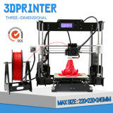 22X22X24cm 3D Printer van het Binnenlandse Gebruik met Uitrusting Arduino