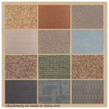 Plancher de vinyle de PVC de modèle de tapis
