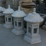 정원을%s 손 Carved Granite Lanterns