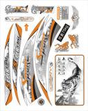 Libérer bon marché l'étiquette de collant de motocyclette d'E-Vélo de modèle