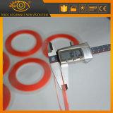 El doble duradero fuerte de la cinta adhesiva del gel de la adherencia echó a un lado cinta