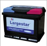 Automobilbatterie-wartungsfreie Batterieleitungs-saure Batterie Mf56638
