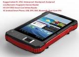 7 PC raboteux de comprimé de l'androïde 6.0 imperméables à l'eau portatifs du panneau de contact de pouce RS232
