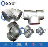 O ferro Ductile flangeou os encaixes de tubulação para as tubulações do PVC