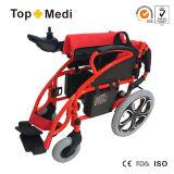 Topmedi China Lieferanten-faltbarer elektrischer Strom-Rollstuhl Tew806D