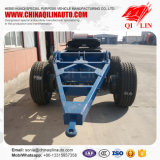 China Double Axles Full Drawbar Dolly Trailer à vendre