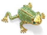 Boîte de bijoux d'alliage, boîte de bijoux de décoration (233)