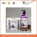 OEM Druk paste Kosmetische Etiketten met Waterdicht Materiaal aan
