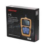 Obdstar originale J-C che calcola lo strumento dell'immobilizzatore di codice di Pin che copre la vasta gamma dei veicoli aggiorna liberamente in linea