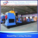 Máquina que bisela del tubo redondo del CNC