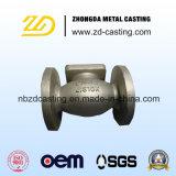 Moulage au sable malléable de fer d'OEM pour le carter de valve moulé