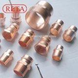 Encaixe do cobre da tubulação do cobre da pressão de R410A