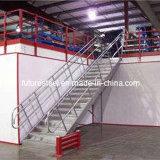 Plataforma de aço para o armazém