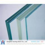seguridad del claro de 4.38-12.38m m/vidrio laminado del flotador con buena cantidad