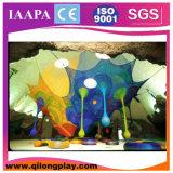 De nieuwe BinnenSpeelplaats van de Boom van de Regenboog van het Programma (QL--062)