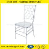 Cadeira desobstruída plástica de Hotsale para o casamento e os eventos