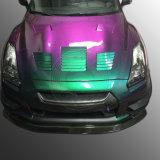 Pigmento automotor del efecto del camaleón de la rotación del color