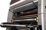Máquina que lamina de la película respetuosa del medio ambiente de la ventana de Full Auto con el cortador del cuchillo de la mosca (XJFMKC-1450L)