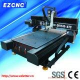 Máquina dual de la talla y de grabado del CNC de la transmisión del tornillo de la bola de Ezletter (GR-1530ATC)