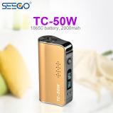 Батарея сигареты Seego оптовой продажи изготовления Китая электронная с большой силой