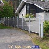 Preiswerte Aluminiumzaun-Großhandelspanels des Garten-WPC für Garten, Pool, Park, Landhaus