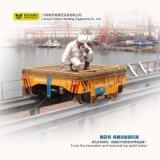 Chariot de véhicule de transfert de longeron actionné par câble antiexplosion de chantier naval